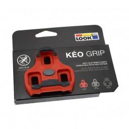 Look Keo Grip Pedalklampe Rød 9 Gr.