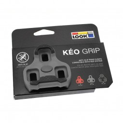 Look Keo Grip Pedalklampe Grå 4.5 Gr.