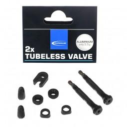 Schwalbe Tubeless 40 mm ventilforlænger sæt