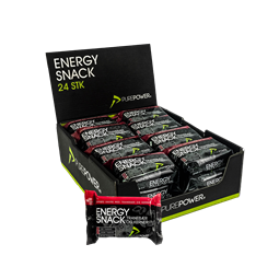 PurePower energy snack tranebær & kerner 24 stk