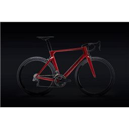 Factor One Crimson Red Hjul & Stel