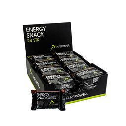 PurePower energy snack kakao 24 stk